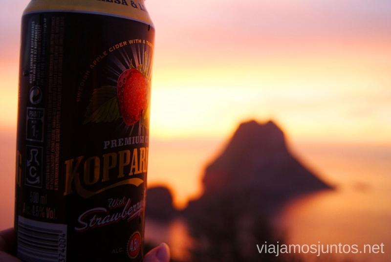 Echando de menos Suecia y Kopparberg Nuestros atardeceres favoritos de Ibiza Donde ver puesta de sol en la isla de Ibiza