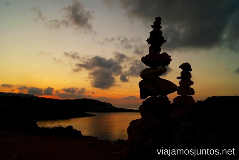 Desde la ruta en los alrededores de Portinatx Nuestros atardeceres favoritos de Ibiza Donde ver puesta de sol en la isla de Ibiza