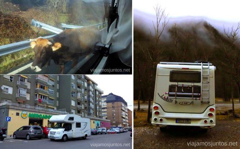 Parkings que molan... o son útiles. Viajar en autocaravana. Trucos y consejos. Primera vez.