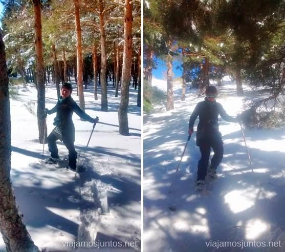 Súper falda-plumas, malla, polainas - para días calurosos de mucha nieve Caminatas de invierno. Cómo vestirse barato para rutas de invierno no tener frío.