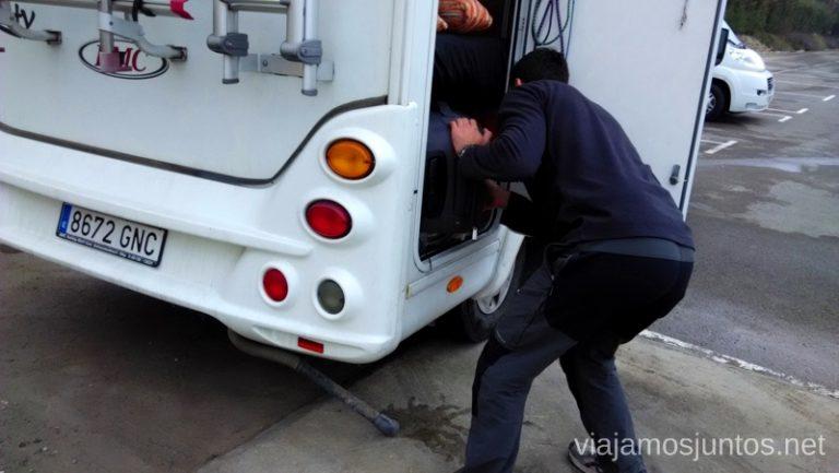 Organizando el maletero Viajar en autocaravana. Trucos y consejos. Primera vez.