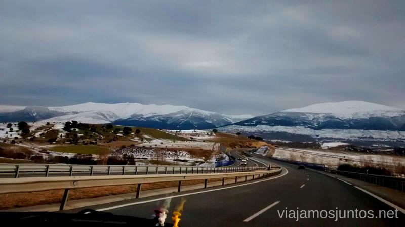 Allá vamos, ¡invierno, welcome us! Caminatas de invierno. Cómo vestirse barato para rutas de invierno no tener frío.