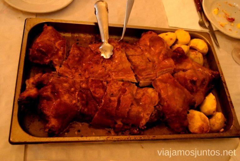 El mejor cochinillo del mundo Donde comer y alojarse en el Valle de Alcudia, Edén de la Mancha, Castilla la Mancha