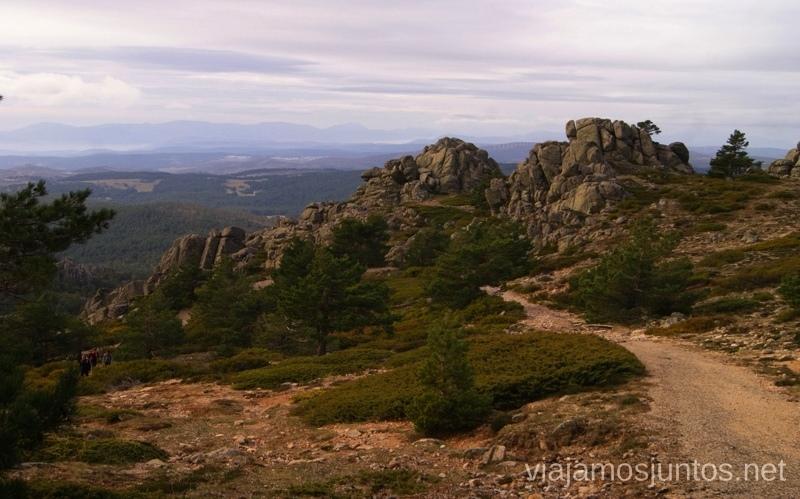 Sigue la senda Senderismo por la zona de San Rafael, Madrid Segovia; Ruta de la Cueva Valiente