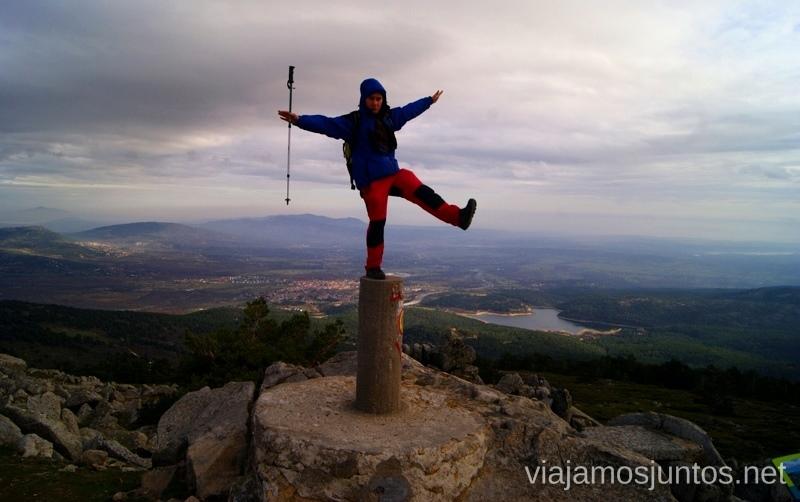 Toma 2 Senderismo por la zona de San Rafael, Madrid Segovia; Ruta de la Cueva Valiente