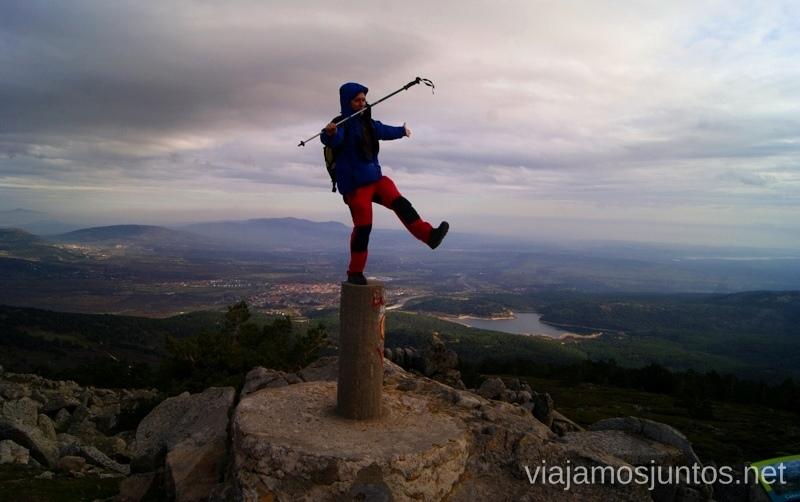 Toma 1 Senderismo por la zona de San Rafael, Madrid Segovia; Ruta de la Cueva Valiente