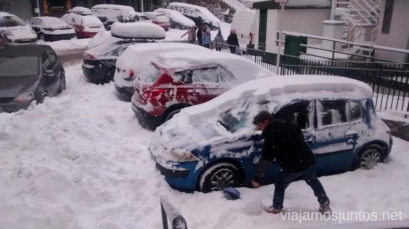 También pasa en Andorra en invierno: ¡Suerte con el coche! Esquiar en Grandvalira Andorra Información práctica, consejos, esquiar barato