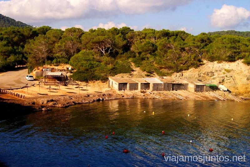 Casetas de pescadores Rincones curiosos de Ibiza. Que ver y que hacer en la isla. Baleares