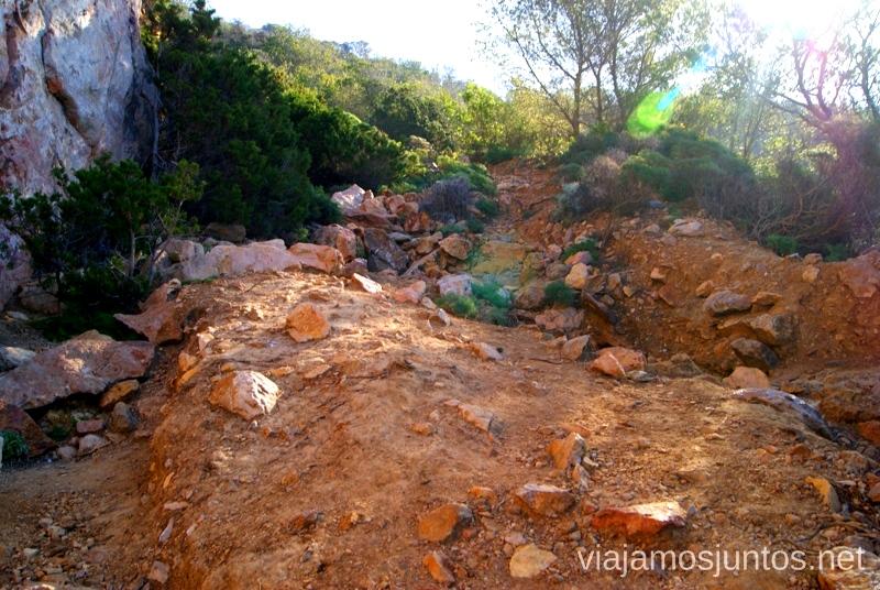 El camino rompepiernas Rincones curiosos de Ibiza. Que ver y que hacer en la isla. Baleares