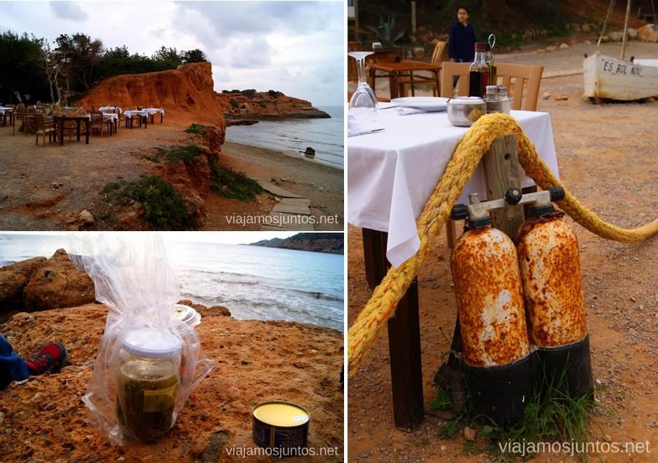 Restaurante con vistas Rincones curiosos de Ibiza. Que ver y que hacer en la isla. Baleares