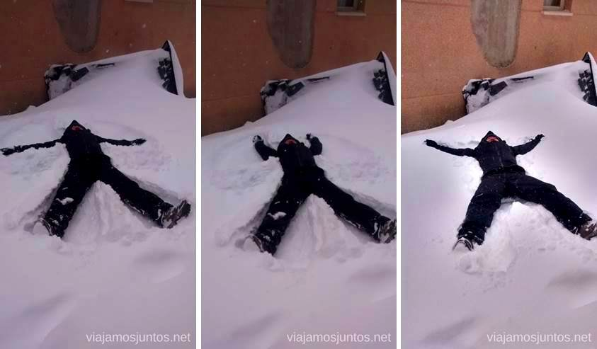 Haciendo ángeles nevados Esquiar en Grandvalira Andorra Información práctica, consejos, esquiar barato