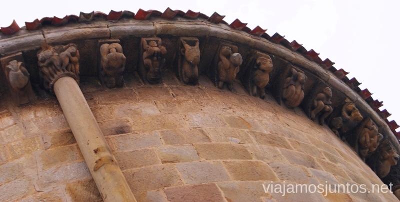 La Colegiata de Cervatos, con motivos eróticos El Sur de Cantabria, que ver y que hacer Lugares más desconocidos y sorprendentes