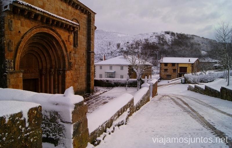 Cervatos de blanco El Sur de Cantabria, que ver y que hacer Lugares más desconocidos y sorprendentes