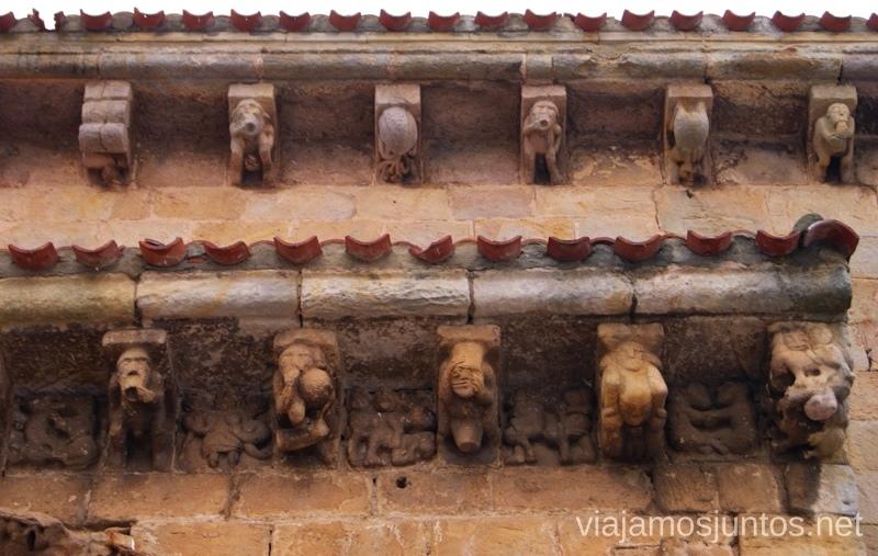 Ejemplos del erótico en la iglesia de Cervatos El Sur de Cantabria, que ver y que hacer Lugares más desconocidos y sorprendentes