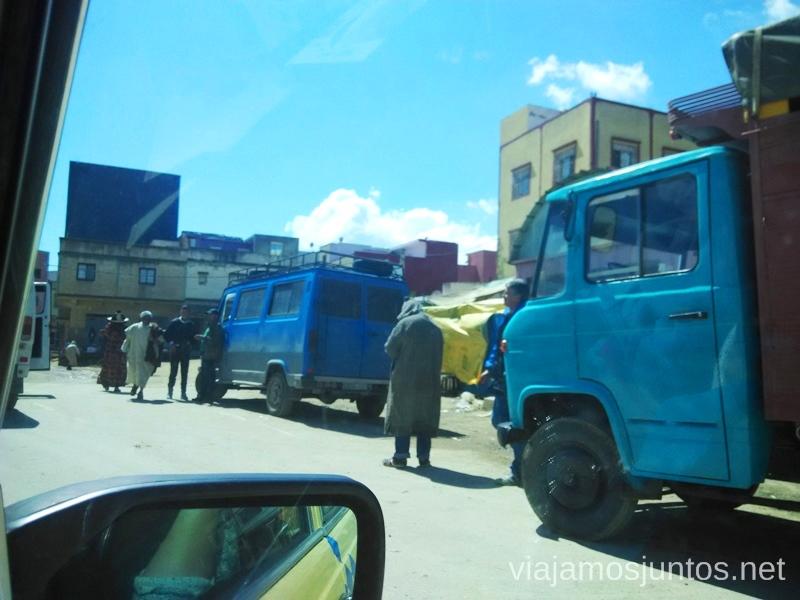 El mercadillo visto desde el taxi #MarruecosJuntos Como es ser taxista en Marruecas