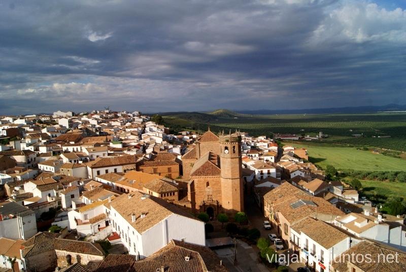 Un momento antes de la tormenta, Baños de la Encina Ruta de los castillos y batallas, Jaén, Andalucía