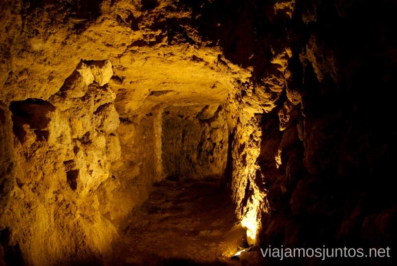 Los túneles de la Ciudad Oculta Ruta de los castillos y batallas, Jaén, Andalucía