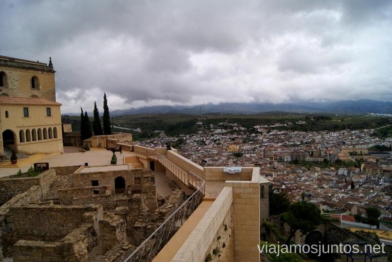 Alcalá la Real desde la Fortaleza de la Mota Ruta de los castillos y batallas, Jaén, Andalucía