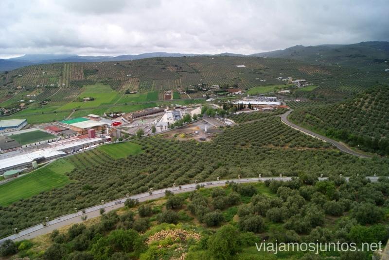 El mar de olivos Ruta de los castillos y batallas, Jaén, Andalucía