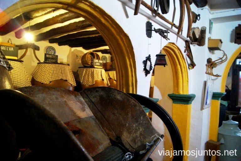 En la bodega Lagar de los vinos, Alcalá la Real Ruta de los castillos y batallas, Jaén, Andalucía