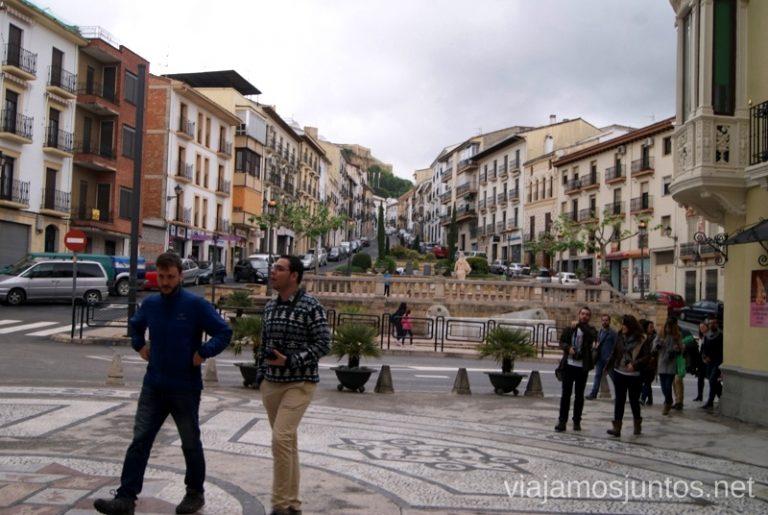 Paseando por Alcalá la Real Ruta de los castillos y batallas, Jaén, Andalucía