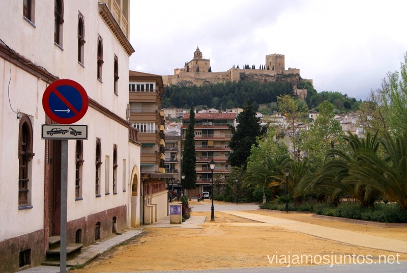 La Fortaleza de la Mota desde Alcalá la Real Ruta de los castillos y batallas, Jaén, Andalucía