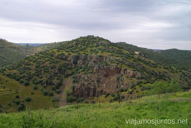 Paisaje virgen Ruta de los castillos y batallas, Jaén, Andalucía