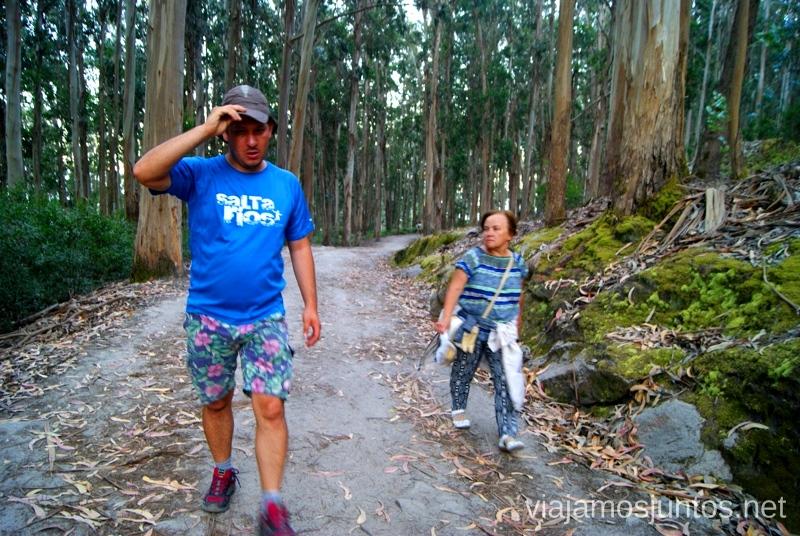 ¡A andar! Islas Cíes, las Islas Atlánticas, Galicia España Paraíso, playas paradisíacas #ViajarConSuegra