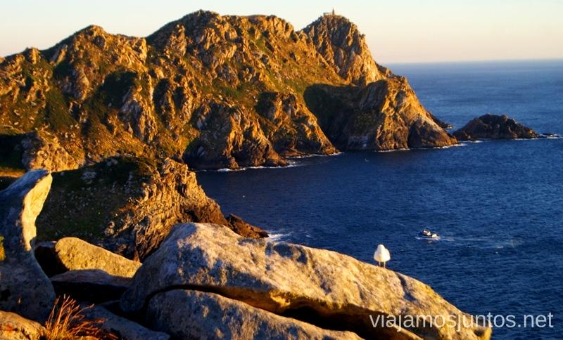 DesdeIslas Cíes, las Islas Atlánticas, Galicia España Paraíso, playas paradisíacas #ViajarConSuegra