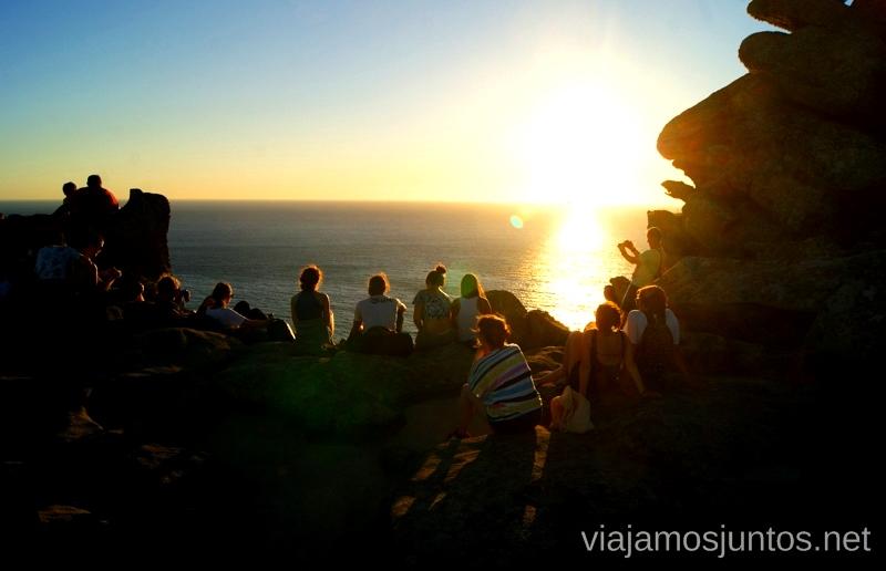 Atardeceres... en compañía Islas Cíes, las Islas Atlánticas, Galicia España Paraíso, playas paradisíacas #ViajarConSuegra