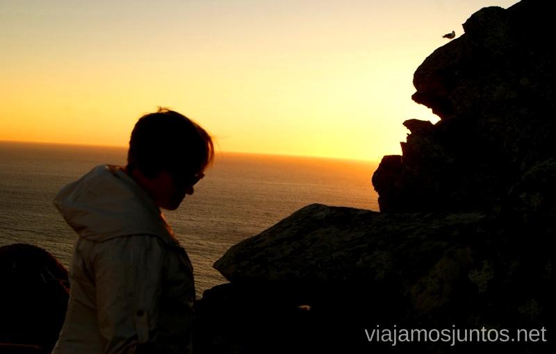 Atardecer desde el Alto del Príncipe Islas Cíes, las Islas Atlánticas, Galicia España Paraíso, playas paradisíacas #ViajarConSuegra