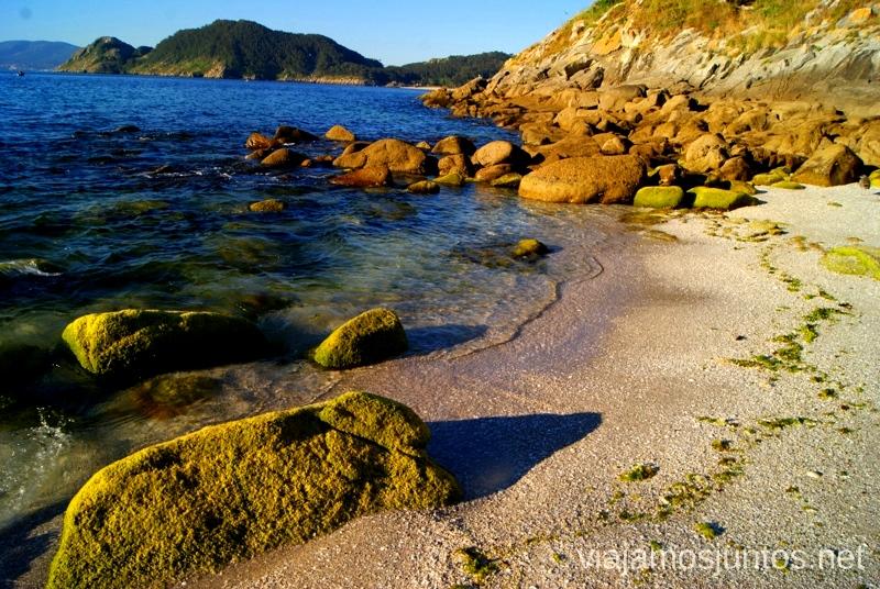 Una de las playas paradisíacas Islas Cíes, las Islas Atlánticas, Galicia España Paraíso, playas paradisíacas #ViajarConSuegra