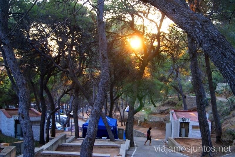Camping Santa MArta, Cullera #ViajarConSuegra por el Sur de España, playas, mar, beach