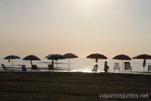 Meditando... Cullera Amanecer #ViajarConSuegra por España y portugal, playas, mar, beach