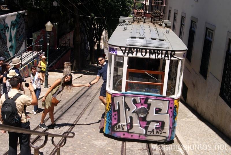 Los famosos tranvías de Lisboa Una ruta de 3 días por la zona de Lisboa Itinerario de viaje por los alrededores de Lisboa #ViajarConSuegra