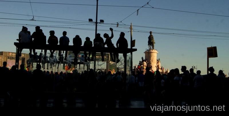 Los fans, listos para la Final de la Eurocopa Una ruta de 3 días por la zona de Lisboa Itinerario de viaje por los alrededores de Lisboa #ViajarConSuegra