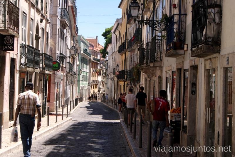 Las calles de Lisboa Una ruta de 3 días por la zona de Lisboa Itinerario de viaje por los alrededores de Lisboa #ViajarConSuegra