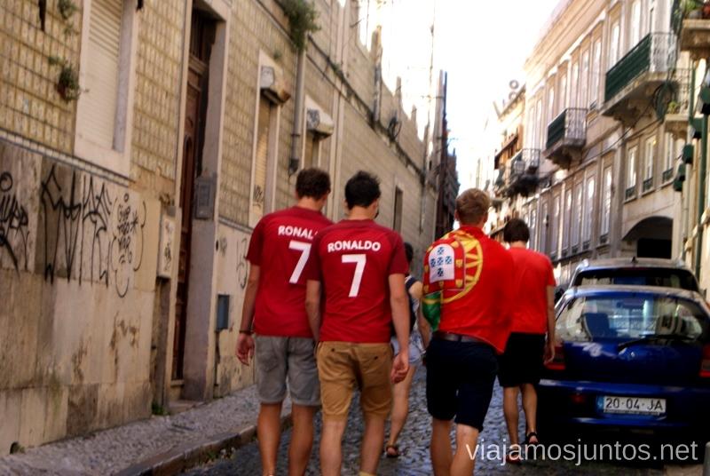 Todos con el equipo de Portugal Una ruta de 3 días por la zona de Lisboa Itinerario de viaje por los alrededores de Lisboa #ViajarConSuegra