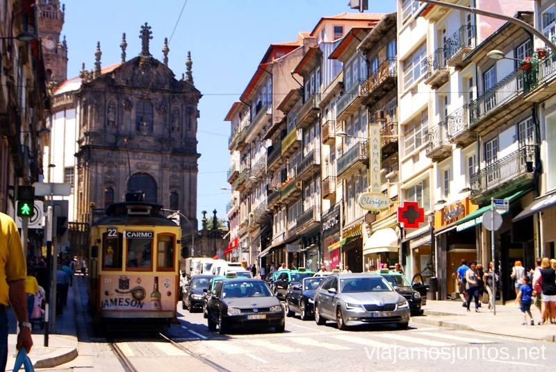 Las calles y tranvías Visitar Oporto, Portugal Que ver y que hacer en Porto #ViajarConSuegra