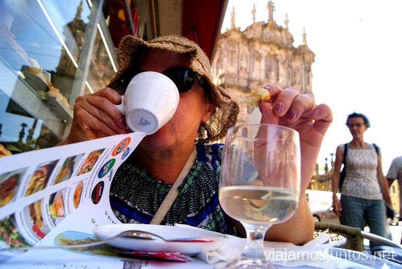 Cofeitaria Dos Clérigos, dónde comimos Visitar Oporto, Portugal Que ver y que hacer en Porto #ViajarConSuegra