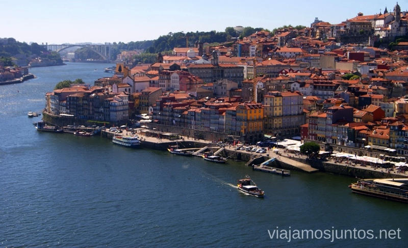 Oporto Portugal Vistas desde el puebte Visitar Oporto, Portugal Que ver y que hacer en Porto #ViajarConSuegra