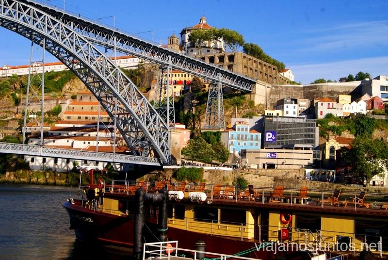 El puente para las vistas panorámicas Visitar Oporto, Portugal Que ver y que hacer en Porto #ViajarConSuegra