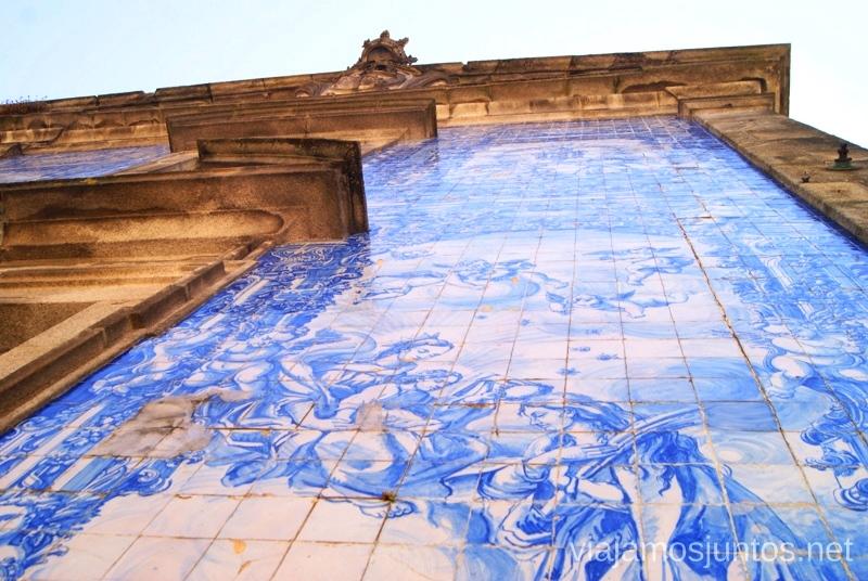 Fascinantes azulejos de cerca Visitar Oporto, Portugal Que ver y que hacer en Porto #ViajarConSuegra
