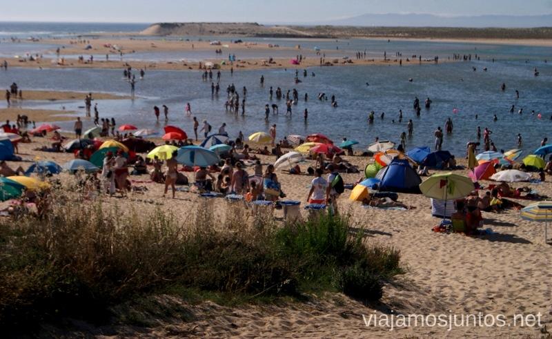 Si, un poco de gente... Consejos prácticos y qué hacer en la península de Setúbal Portugal #ViajarConSuegra