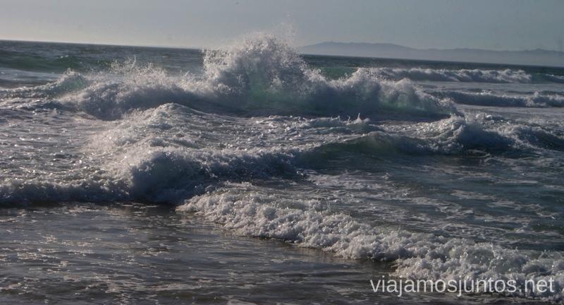 El océano y su fuerza en la península de Setúbal Una ruta de 3 días por la zona de Lisboa Itinerario de viaje por los alrededores de Lisboa #ViajarConSuegra