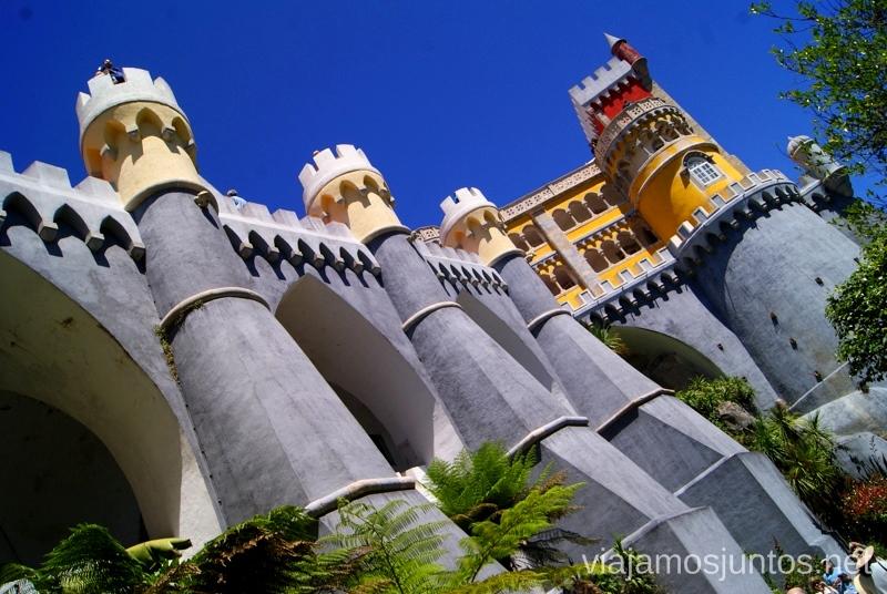 Palacio Da Pena Que ver en Sintra, nuestro itinerario de un día por los parques y palacios #ViajarConSuegra