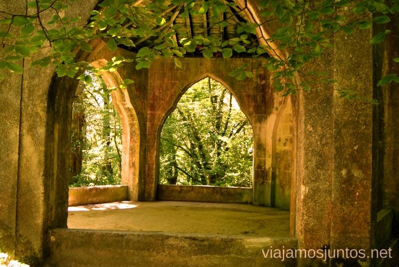 Paseos secretos por el parque del Palacio de la Pena Consejos prácticos y Que ver en Sintra, nuestro itinerario de un día por los parques y palacios #ViajarConSuegra