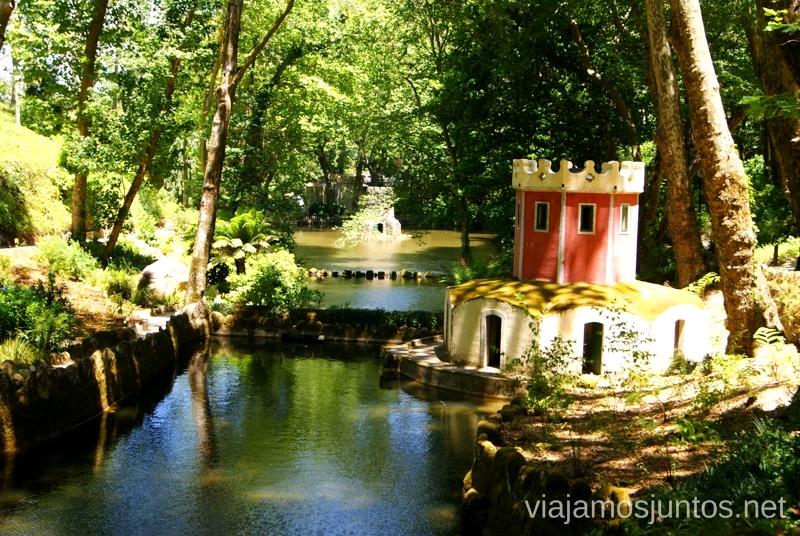 El parque del palacio da Pena Consejos prácticos y Que ver en Sintra, nuestro itinerario de un día por los parques y palacios #ViajarConSuegra