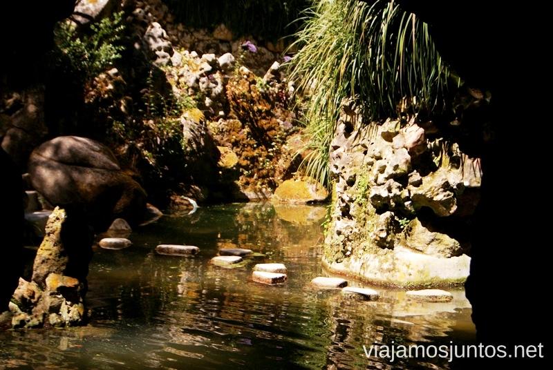 Paseando... con cuidado por Quinta da Regaleira Consejos prácticos y Que ver en Sintra, nuestro itinerario de un día por los parques y palacios #ViajarConSuegra