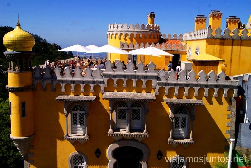 Palacio de la Pena Consejos prácticos y Que ver en Sintra, nuestro itinerario de un día por los parques y palacios #ViajarConSuegra